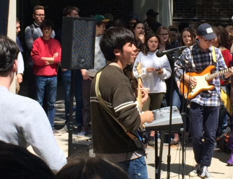 Courtyard Jam Session