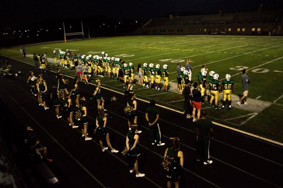 Lane Tech homecoming football game