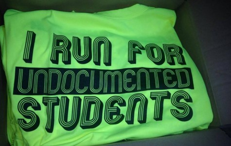 Tinajero's group runs the marathon every year to raise funds for undocumented students.