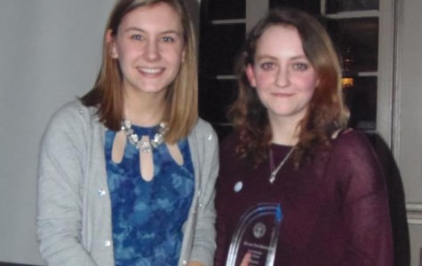 Olivia Ottenfeld and Simone Laszuk '16 honored as Junior Citizen Finalists of their North Region.