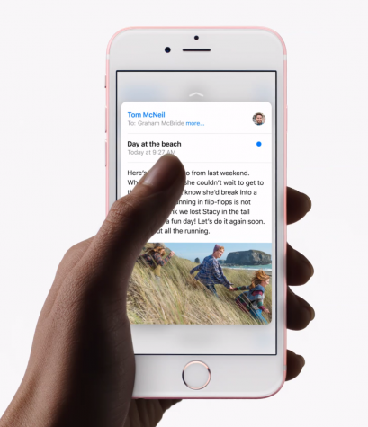 A faster way to look at your messages by applying pressure and seeing a snapshot of its