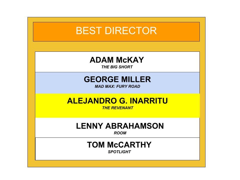 ACADEMY AWARD BEST DIRECTOR