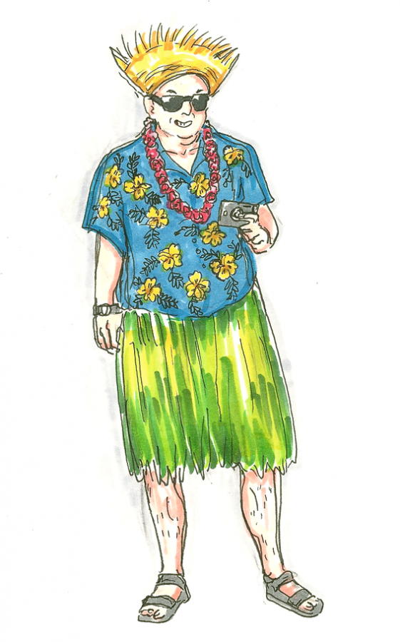 Tension erupts over Hawaii-themed spirit day.
