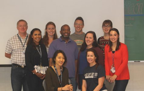 New Jones staff take a break from their chaotic first weeks of moving in