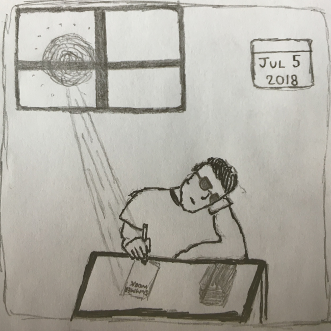 summer civics drawing