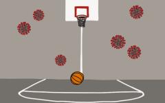 Basketball season trimmed